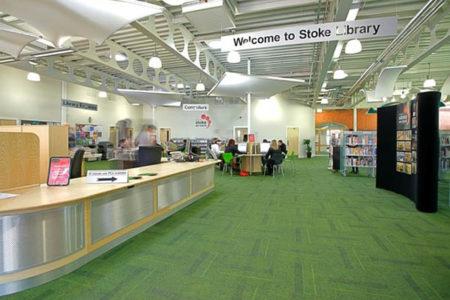 stoke service 03 450x300 - Portfolio - Stoke Local Service Centre